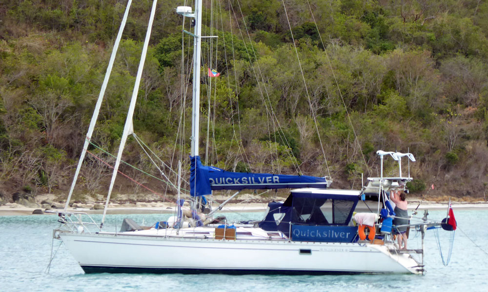 Jeanneau Sun Legende 41 sailboat