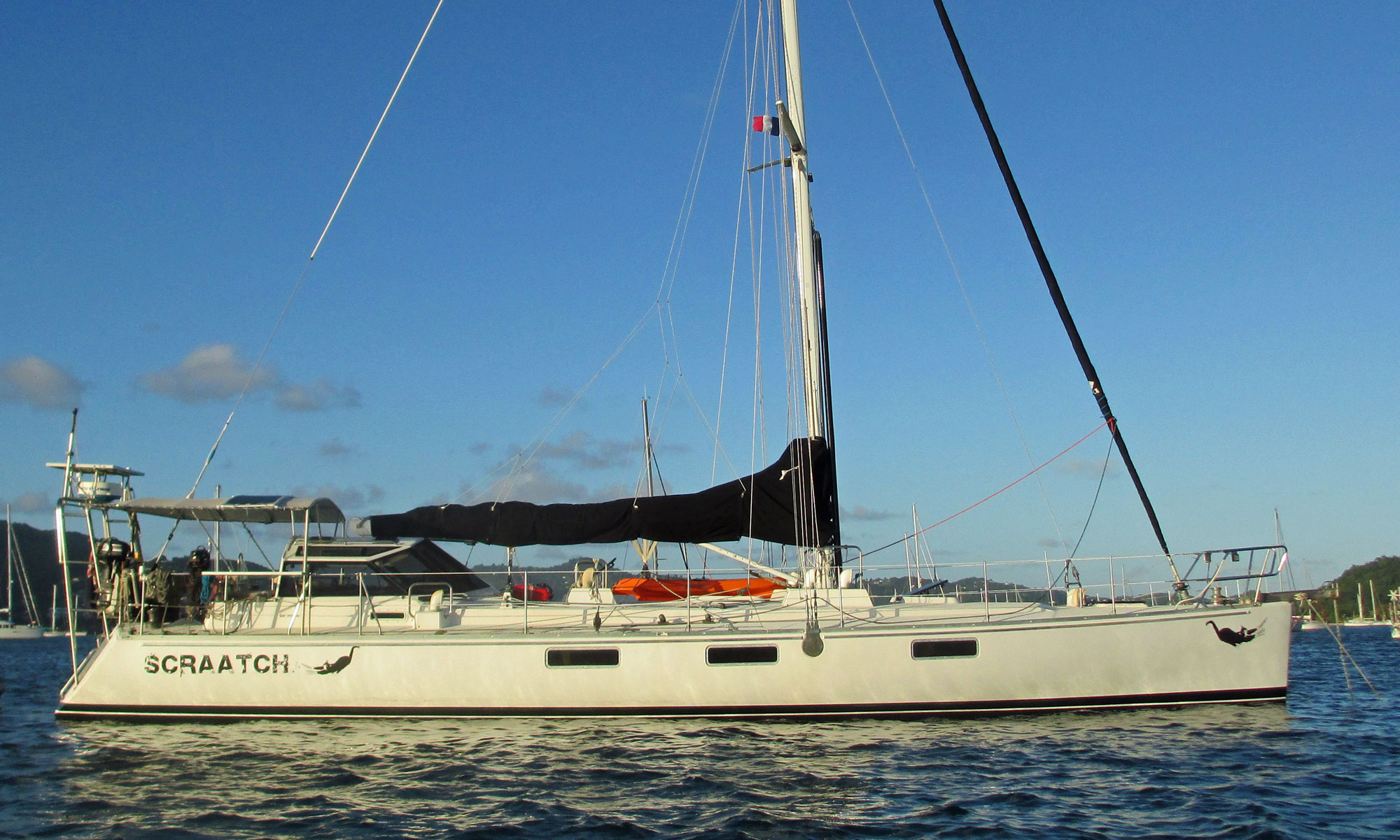 Long, light and narrow - a Sundeer 56 sailboat
