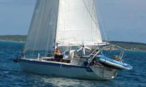 A VIA 36 Lifting Centreboard Aluminum Sloop