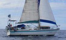 A Tosca 36 sailboat