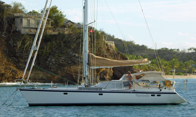 Wauquiez 48 cruising yacht with solent rig
