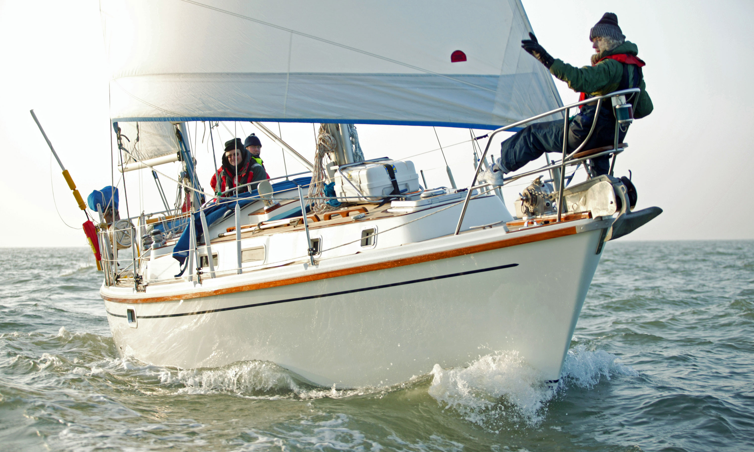 Westerly Conway 36 ketch-rigged sailboat