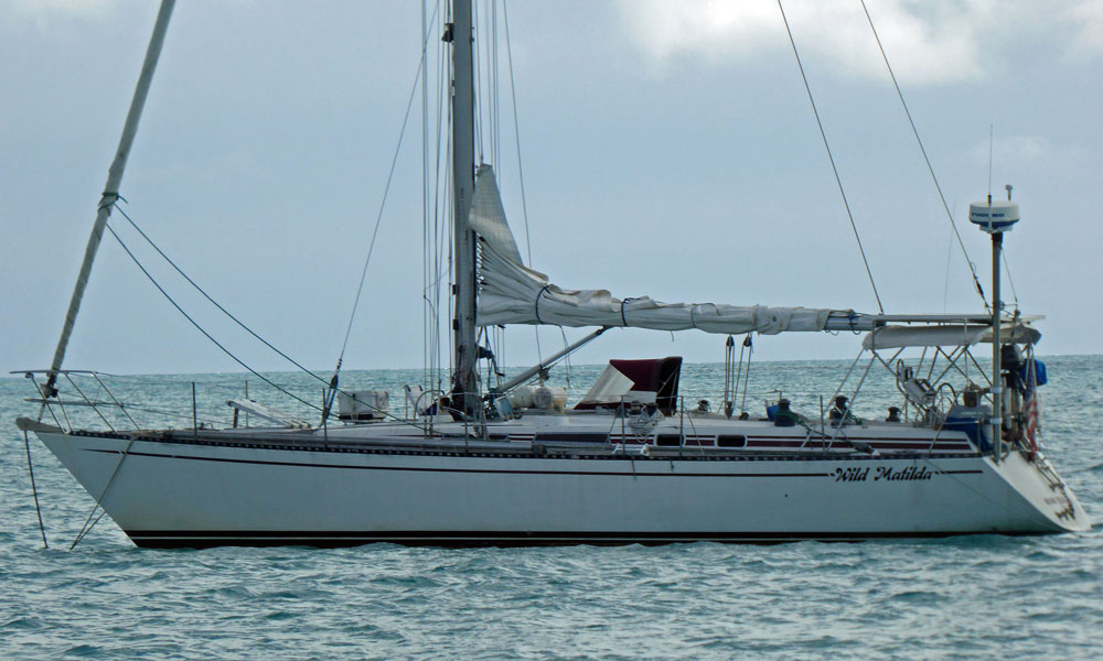 'Wild Matilda', an RH43 cruising yacht designed by Ron Holland