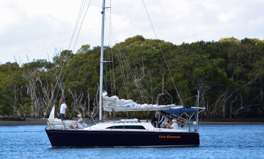 A Young 88 Cruiser/Racer sailboat