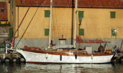 'Aldarion', a 38' Stays'l Schooner for sale