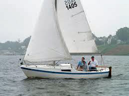 A Cal 20 trailer-sailer is ideal for pottering and class racing