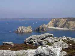 the cliffs at Camaret-sur-Mer