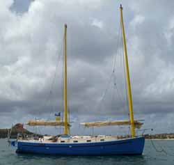 What Are Cat Ketch Sailboats and Do they Make Good Cruising Boats?