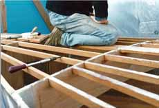 Constructing the deck and coach roof of a custom-build sailboat