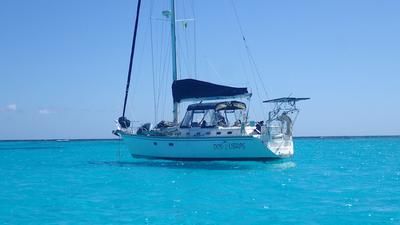 Floating like magic in the Tobago Cays