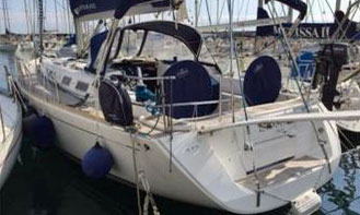 A Dufour 425 for sale