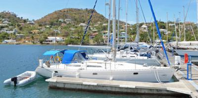 <i>'Dock Brief'</i> is currently berthed in Antigua, West Indies