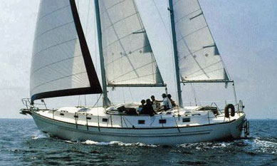 A Morgan 46 ketch