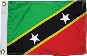 St Kitts & Nevis flag