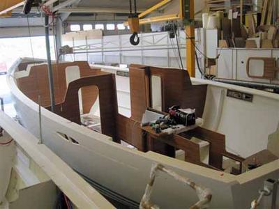 The Interior Construction In Progress